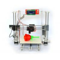 Wholesale Reprap Prusa I3 Clear Frame Full 3d Printer Kit with LCD Screen Gt2 Mk8 from china suppliers
