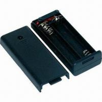 Wholesale 2 x AAA Battery Holder with Cover from china suppliers