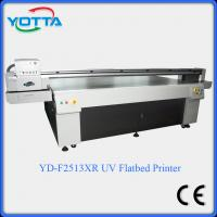 Wholesale Glass uv flatbed printer for ceramic,marble,tiles,mosaic,wood,leather printing machine from china suppliers