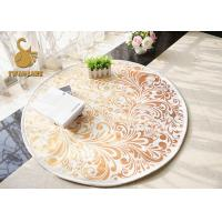 Wholesale Lovely Modern Floor Rugs Round Shape Washable 100% Polyester Material from china suppliers