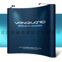 China Trade show booth exhibition steel or aluminium alloy stand pop up banner stands on sale