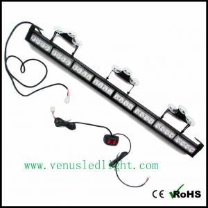 Wholesale Auto Truck 32 LED Amber Emergency Traffic Advisor Flash Strobe Light Bar Warning from china suppliers