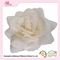 Wholesale Decorative Handmade fabric flowers For Dresses 11cm Size Ivory / White color from china suppliers