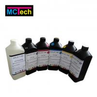 Wholesale LED UV ink for Epson DX5/DX6/DX7, printing for hard & soft material from china suppliers