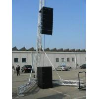 Wholesale Single A Dj Speaker Stands Tower Aluminum 1.1T Loading 12M Height Spigot Truss from china suppliers