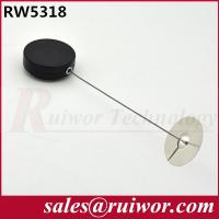Buy cheap RW5318 Retractable Steel Cable | Round Retractable Security Pull Boxes Metal from wholesalers