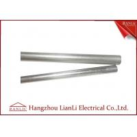 Wholesale 1 2 Inch Steel EMT Electrical Conduit / Metal Conduit Pipe With 3.05 Meters , ISO9001 Listed from china suppliers