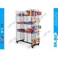 Wholesale Store Wire Hooks Gridwall Display Racksl Gondola with Bulk Baskets from china suppliers