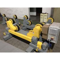 Wholesale 10T Self Aligning Pipe Wheels Rollers / Welding Turning Rolls With Moving Wheels from china suppliers