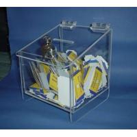 Wholesale OEM and ODM Design Acrylic Donation Box with Lock and Key from china suppliers