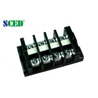 Wholesale High Current Terminal Connector Block 18.0mm 600V Black PC Screw Mount Connector from china suppliers