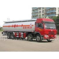 Wholesale FAW 8*4 36CBM aluminum alloy chemical liquid tank truck from china suppliers