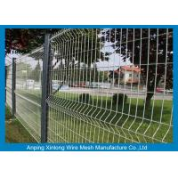 Wholesale Waterproof Welded Wire Mesh Fence Various Sizes Convenient Installation from china suppliers