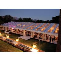 Wholesale 12x30m 300 Seaters Transparent Marquee Wedding Tent Clear Roof Fire Proof from china suppliers