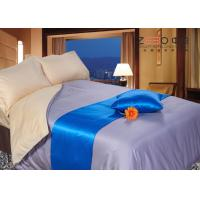Wholesale 300TC Hotel Collection Bed Linen Grey Color , Hotel Luxury Linen Collection from china suppliers