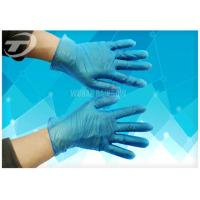 Wholesale Disposable Vinyl Exam Gloves White Blue Light Powder Free Exam CE Certifiacted from china suppliers