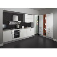 Wholesale Painting Laminate Modern Kitchen Cabinets White Interior Italian Design from china suppliers
