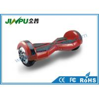 Quality Red Smart Electric Self Balancing Scooter Two Wheels 10 Inch Skateboard 700W Motor Power for sale