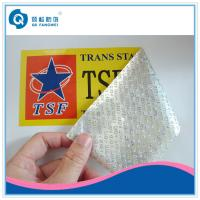 Wholesale Non-Transfer VOID Tamper Proof Label With Serial Number and Barcode from china suppliers