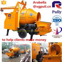 Wholesale good service electric small portable concrete mixer pump with high quality, small towable concrete mixer for sale from china suppliers