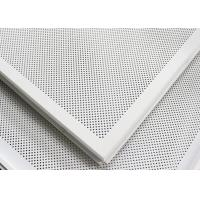 Wholesale Soundproof Perforated Lay In Ceiling Tiles Floating / 2x2 Ceiling Panels For hall decoration from china suppliers