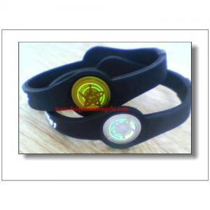 China Power balance silicone bracelets on sale