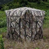 Quality Hunting Blinds/Hunting Equipment, Made of 150D Camouflage for sale