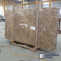 Buy cheap Light Emperador Brown Marble Slab from wholesalers