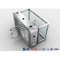 Wholesale Double Anti - Clipping Waist Height Turnstiles AC220V With Stepping Driver Motor from china suppliers