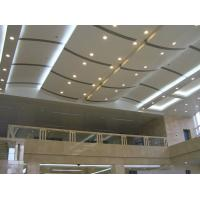 Wholesale Eco Friendly Fiberglass Soundproofing Curved Ceiling Panels For Building , Heat Insulation from china suppliers