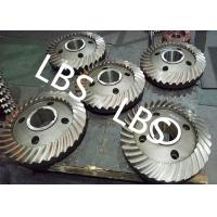 Wholesale High Pressure Double Helical Gear Electric Water Pump Gearbox Parts Big Spiral Bevel Steel Material from china suppliers