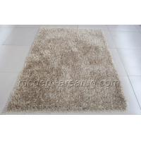 Wholesale Champagne Polyester Shaggy Pile Rug, Modern Concise Shag Pile Rugs For Living Room from china suppliers