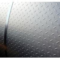 Quality Roll Type Diamond Shape Low Carbon Perforated Matal Chequered Steel Plate for Factory / Floor Board for sale