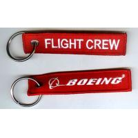 Wholesale Boeing Flight Crew Embroidered Key Ring from china suppliers
