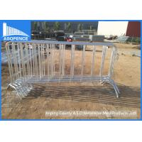 Wholesale Temporary Crowd Control Barriers 20*1mm Picket , Hot Dipped Galvanzed from china suppliers