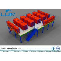 Wholesale Multi Layer Storage Mezzanine Floors , Steel Structure Mezzanine Storage Platform from china suppliers