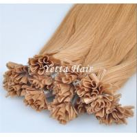 Wholesale Italian Stick U Tip Pre Bonded Hair Extensions No Shedding No Tangle from china suppliers