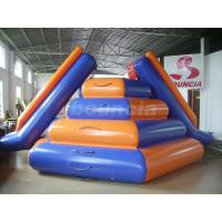 Wholesale Reinforced Colorful Water Floating Inflatable Water Slide For Water Sports from china suppliers