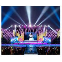 Wholesale P3.91 Outdoor Rental Cabinet 500x1000mm Die-Casting Aluminum SMD RGB LED Video Display from china suppliers