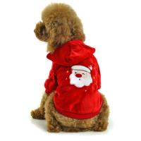 Wholesale Red dog clothes santa apparel from china suppliers