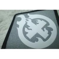 Wholesale Custom Silver Reflective Screen Printing Label , Soft TPU Patch For Garment from china suppliers