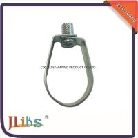 "Wholesale 6"" Galvanized Hanging Pipe Clamps And Hangers Carbon Steel ASTM A653-6a Material from china suppliers"
