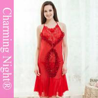Wholesale Fancy Design Beautiful Custom sexy valentine dress , sexy sleeping clothes from china suppliers