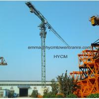 Wholesale QTZ230(PT6425) Construction Tower Crane 64m Boom 12tons Load Capacity from china suppliers