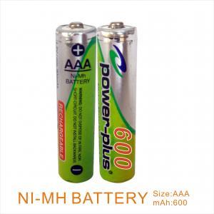 Wholesale NIMH AAA600mAH 1.2V camera & shaver & flashlight battery  from china suppliers