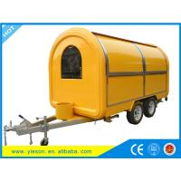 Wholesale New model can be customized logo Mobile Ice Cream Food trailers,modern mobile food cart from china suppliers