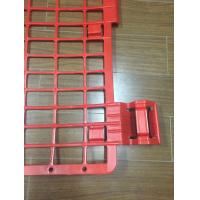 Wholesale Multi Color HDPE Plastic Brick Guard , Scaffold Brick Guards For Protection from china suppliers