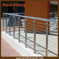 Wholesale Wire Balustrade with Round Mirror Finish Posts and Handrails (SJ-682) from china suppliers