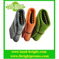 Wholesale promotional felt keychain bag from china suppliers