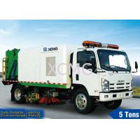 Wholesale 5tons Street Sweeping Special Purpose Vehicles For High Way , Airport And Dock from china suppliers